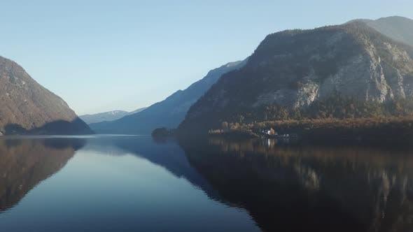 Thumbnail for Hallstaettersee, Lake Hallstatt, Hallstatt, Salzburg, Austria, Europe