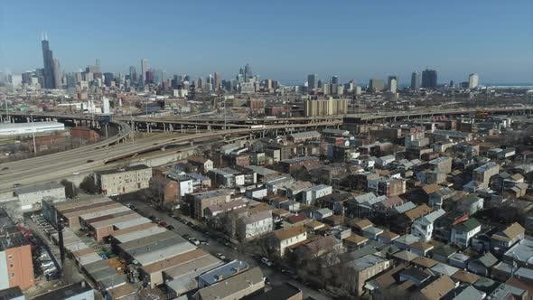 Thumbnail for Chicago City   Aerial Footage