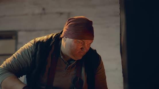 Face of a Blacksmith