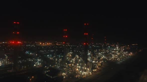 Thumbnail for Refinery Oil at Night