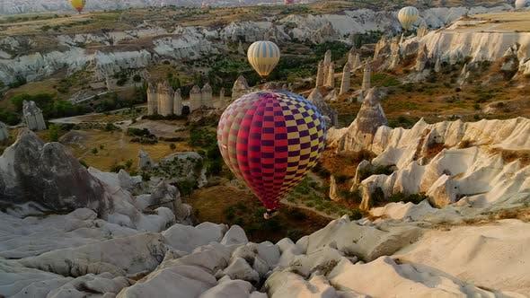 Turkey Landscape In Cappadocia