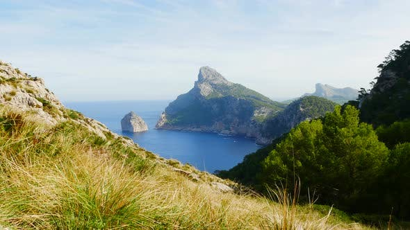 Thumbnail for Coastal Nature Landscape Scenery at Sea Ocean