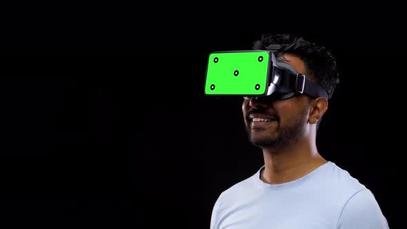 Thumbnail for Man in Vr Glasses or Virtual Reality Headset 57