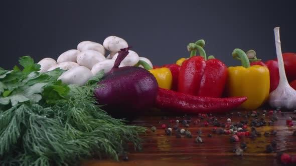 Vegetables Water