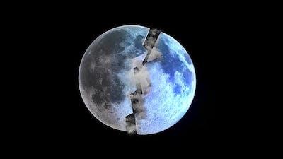 The Moon Split