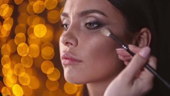 Thumbnail for Doing Makeup for a Model