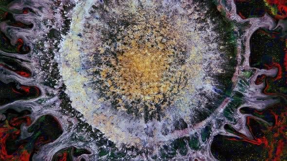 An Eruption of Gold Dust