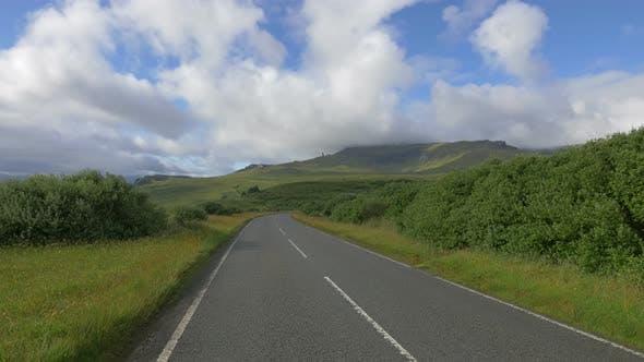 Thumbnail for A coastal road on the Isle of Skye