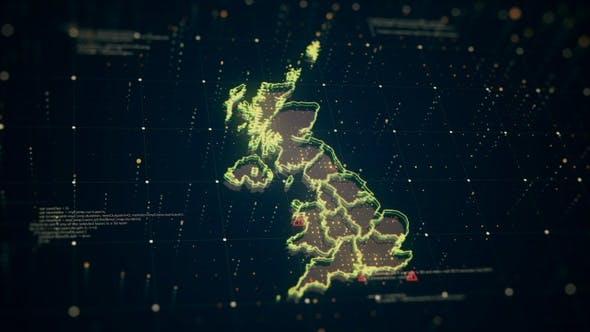 Gold United Kingdom Danger  4 K