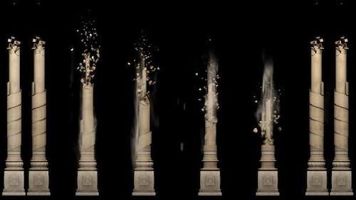 Palace pillar animation
