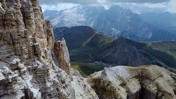 Thumbnail for Breathtaking Aerial View of Italian Dolomites