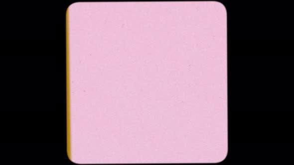 8mm 16mm 35mm Square Pink Film Frame