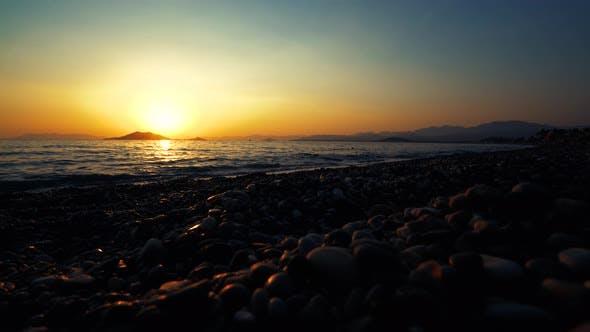 Thumbnail for Sea Coast At Sunset