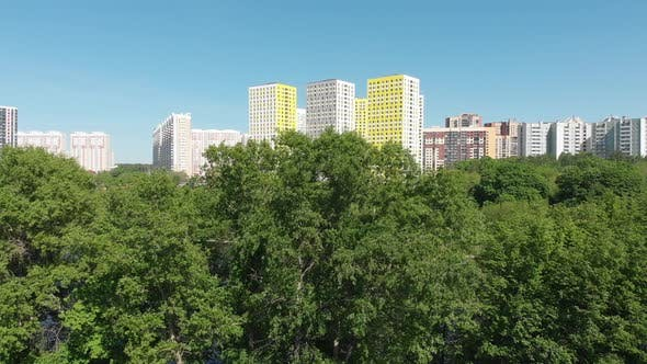Thumbnail for The Cityscape of Levoberezhnyy District in Khimki City