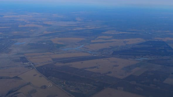 Thumbnail for Aerial View From Departing Airplane