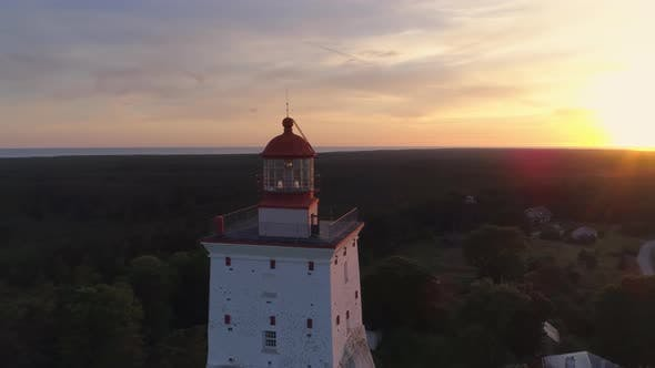 Thumbnail for Aerial View Of Old Lighthouse Built In 1531