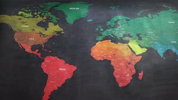 Thumbnail for Big Map World Earth