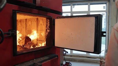 Boiler Room on Environmentally Friendly Fuel