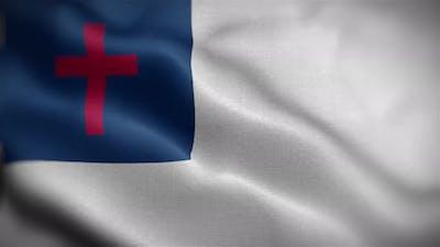 Christian Flag Front