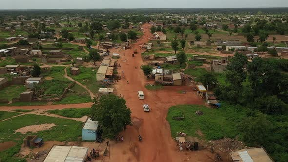 Thumbnail for Africa Mali Village Aerial View 25