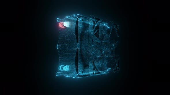 Thumbnail for Pc Cooler Fan Hologram 4k