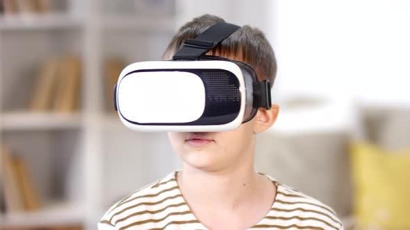 Thumbnail for Boy Enjoying Virtual Reality Headset