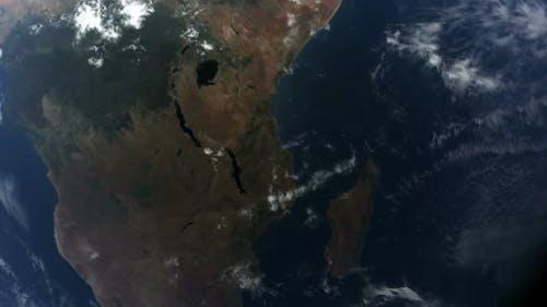 Erde Afrika