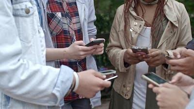Teens Sharing Social Media