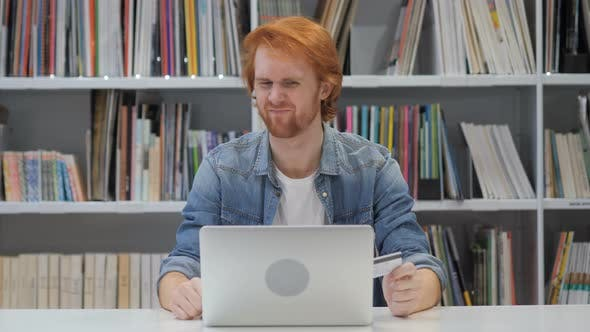 Thumbnail for Fail Online Shoping by Redhead Man in Office