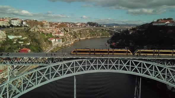 Thumbnail for Porto Bridge Aerial View