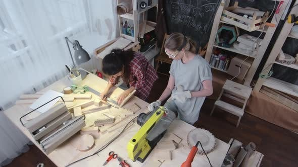 Thumbnail for Woodworking Girls