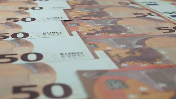 Thumbnail for Euro Bills On The Table