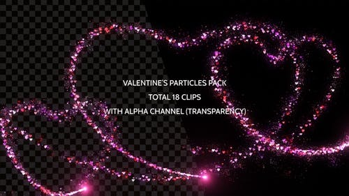 Valentine's Particles Pack