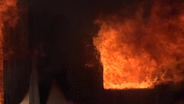 Thumbnail for Fire Destroys Home Under Construction