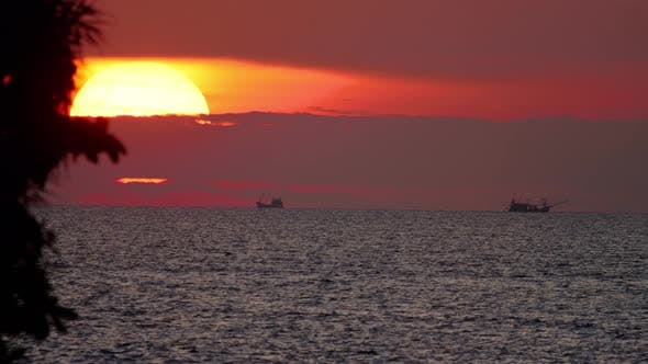 Thumbnail for Sunset Landscape at Phuket