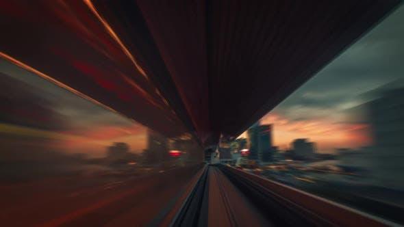 Thumbnail for Train Ride Through Tokyo
