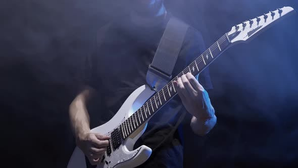 The Man Is Playing Rock
