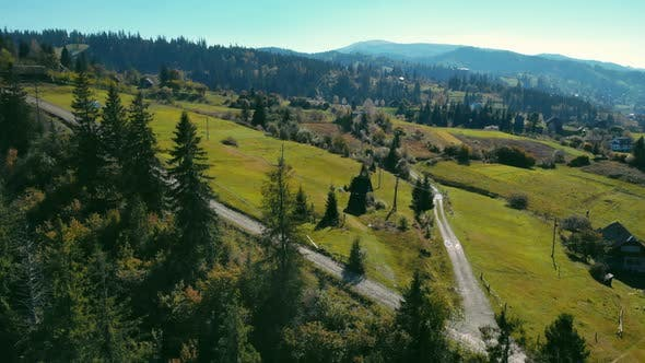 Thumbnail for Aerial View on Rural Area