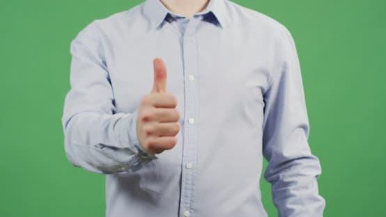 Thumbnail for Man giving thumb up