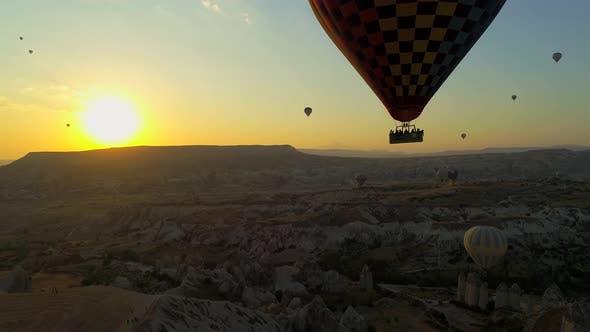 Thumbnail for Sunset Hot Air Balloons