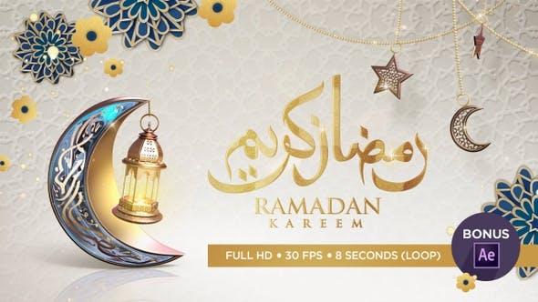 Thumbnail for Ramadan Greeting Video Background