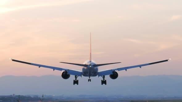 Thumbnail for Plane Landing On Runway