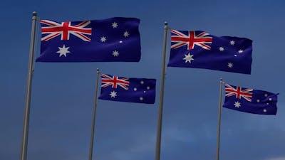Australia  In The Blue Sky - 2K
