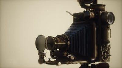 Antique Old Retro Photo Camera