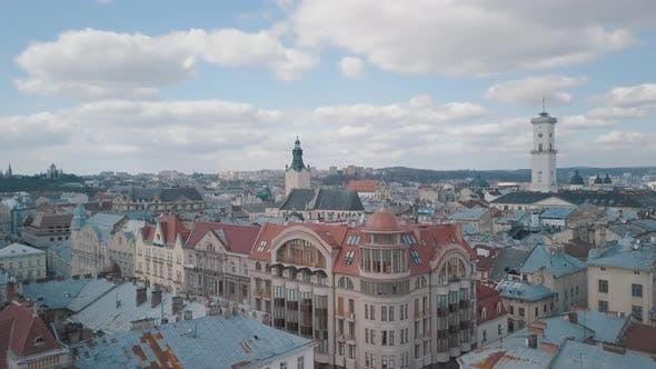 Thumbnail for Aerial City Lviv
