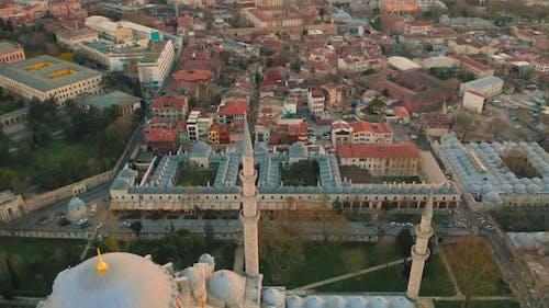 Blue Mosque or Sultanahmet Camii in Istanbul Turkey
