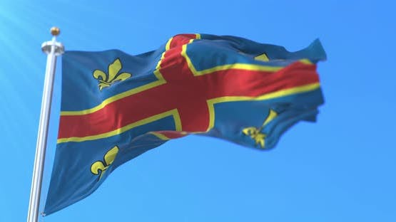 Flag of the City of Clermont-Ferrand, France
