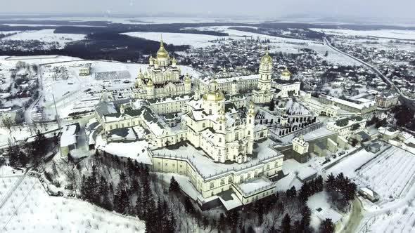 Thumbnail for Pochayiv Lavra, an Orthodox Monastery in Ternopil Oblast of Ukraine