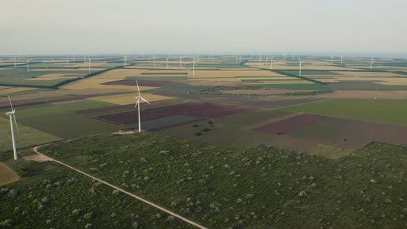 Thumbnail for wind turbine farms