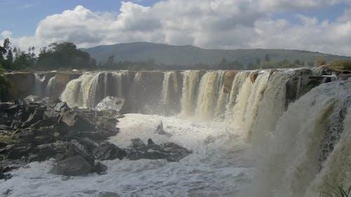 Fourteen Falls in Kenya